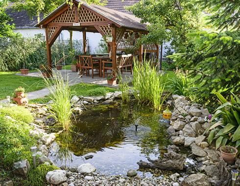 Aménagement de jardin à Annecy